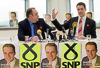 14/10/09 SNP candidate David Kerr launches campaign
