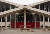 Dorton Arena in Raleigh, North Carolina on Tuesday, November 25, 2014. (Justin Cook)