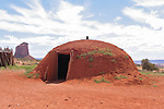 Woman`s Hut in Monument Valley, Navajo Tribal Park, Arizona, USA