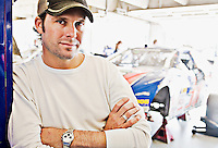 Stanton Barrett, photographed at Texas motor Speedway in Fort Worth, Texas on October 31, 2008. Photograph © 2008 Darren Carroll.