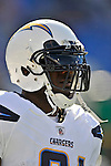 19 October 2008:  San Diego Chargers' running back LaDainian Tomlinson warms up prior to facing the Buffalo Bills at Ralph Wilson Stadium in Orchard Park, NY. The Bills defeated the Chargers 23-14 and maintain their first place position in the AFC East with a 5 and 1 record...Mandatory Photo Credit: Ed Wolfstein Photo