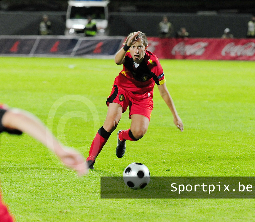 Iceland : UEFA Women's Euro Qualifying group stage (Group 3) - 21/09/2011 - 21:30CET (19:30 local time) - Laugardalsvöllur - Reykjavik : ICELAND (ijsland) - BELGIUM ( Belgie) : Niki De Cock..foto DAVID CATRY / Vrouwenteam.be