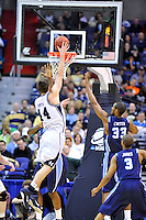 Andrew Smith of the Bulldogs goes up for a layup. Butler defeated Old Dominion 60-58 during the NCAA tournament at the Verizon Center in Washington, D.C. on Thursday, March 17, 2011. Alan P. Santos/DC Sports Box