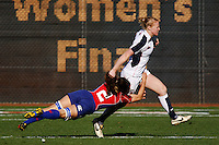 February 14 2009, San Diego, CA, USA:  The IRB USA Sevens Tournament at Petco Park in Downtown San Diego.  An English player is tackled by a  US player during the womens final on day one of the tournament.
