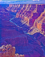 View from Cape Solitude       Grand Canyon National Park, Arizona   Marble Canyon    Colorado River