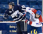 Blake Kessel (UNH - 20), Colin Wright (Lowell - 8) - The visiting University of New Hampshire Wildcats defeated the University of Massachusetts-Lowell River Hawks 3-0 on Thursday, December 2, 2010, at Tsongas Arena in Lowell, Massachusetts.