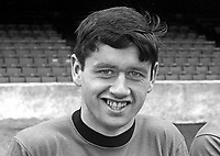 Tommy Morrow, footballer, Glentoran FC, Belfast, N Ireland, September, 1967, 196709000110<br />