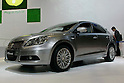 Suzuki Kizashi on display during the first press day for the 41th Tokyo Motor Show, 21 October 2009 in Tokyo (Japan). The TMS will be open for the public from 23 October 2007 to 4 November 2009.