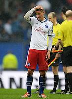 FUSSBALL   1. BUNDESLIGA   SAISON 2012/2013    34. SPIELTAG Hamburger SV - Bayer 04 Leverkusen                      18.05.2013 Ivo Ilicevic (Hamburger SV) ist nach dem Abpfiff enttaeuscht