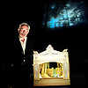 Inside Wagner's Head <br /> performed and written by Simon Callow<br /> at The Linbury Studio Theatre, Royal Opera House, Covent Garden, London, Great Britain <br /> 4th September 2013 <br /> press photocall<br /> <br /> Simon Callow<br /> <br /> directed by Simon Stokes<br /> designed by Robin Don <br /> Lighting by Rick Fisher<br /> Sound by Adrienne Quartly <br /> <br /> <br /> <br /> <br /> <br /> Photograph by Elliott Franks