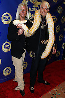 BEVERLY HILLS, CA, USA - MARCH 28: Daniel C. DiCriscio, KUBA Ka at the Versace Unveiling Of The 1st Pop Recording Artist Superhero - KUBA Ka's Performance Outfits. Designed by the legendary fashion hosuse - Donatella Versace. For the Benefit of the Face Forward Foundation (Plastic Surgery for Destroyed Faces from Violence). Pop entertainer TV personality KUBA Ka, together with VERSACE, unveiled Kuba Ka's new Versace images, for the First Pop Artist/Superhero of the World. He has become the inspiration of Donatella's newest and wildest creations and will celebrate the launch of his new power house conglomerate - KUBA Ka Empire Inc. in collaboration with the sensational fashion house - VERSACE on Friday, his birthday at a red carpet media and celebrity event at the luxurious Peninsula Hotel in Beverly Hills held at the Peninsula Hotel on March 28, 2014 in Beverly Hills, California, United States. (Photo by Xavier Collin/Celebrity Monitor)