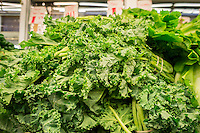 Kale is on sale in a grocery store in New York on Thursday, January 23, 2014. (© Richard B. Levine)