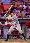 12 June 2006: Jamey Carroll, infielder for the Colorado Rockies, at bat during a game against the Washington Nationals at RFK Stadium, in Washington, DC. The Rockies defeated the Nationals 4-3 in the first game of the four game series...Mandatory Photo Credit: Ed Wolfstein Photo..