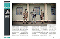 Tearsheet of &quot;South Sudan referendum&quot; published in Africa Decisions Magazine