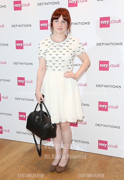 Alice Levine at the Launch party for Very.co.uk introducing the new fashion brand Definitions at Somerset House<br /> London. 04/09/2013 Picture by: Henry Harris / Featureflash