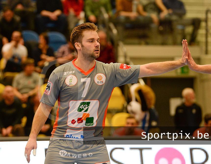 Volley Behappy2 Asse Lennik : Dirk Sparidans<br /> foto VDB / BART VANDENBROUCKE