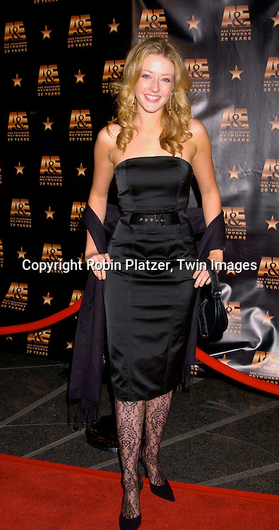 Jennifer Finnigan ..at A & E Television Networks 20th Anniversary Celebration on January 27, 2004 at the Mandarin Oriental Hotel . ..Photo by Robin Platzer, Twin Images
