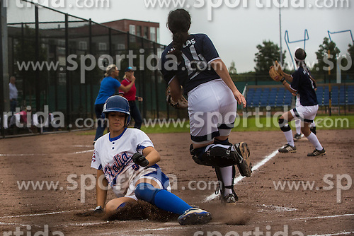 PIANCASTELLI Erika of Italy during match Italy vs Greece at XIX European Softball Fastpitch  Championship Women, on July 20, 2015 in Rosmalen,  Netherlands. Photo by Grega Valancic / Sportida