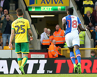 Blackburn Rovers' Lucas Joao celebrates scoring his sides second goal <br /> <br /> Photographer David Shipman/CameraSport<br /> <br /> The EFL Sky Bet Championship - Norwich City v Blackburn Rovers - Saturday 11th March 2017 - Carrow Road - Norwich<br /> <br /> World Copyright &copy; 2017 CameraSport. All rights reserved. 43 Linden Ave. Countesthorpe. Leicester. England. LE8 5PG - Tel: +44 (0) 116 277 4147 - admin@camerasport.com - www.camerasport.com