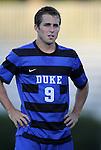 14 September 2012: Duke's Riley Wolfe. The Duke University Blue Devils defeated the Clemson University Tigers 2-0 at Koskinen Stadium in Durham, North Carolina in a 2012 NCAA Division I Men's Soccer game.