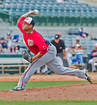 20 March 2015: Washington Nationals pitcher Manny Delcarmen on the mound during a Spring Training game against the Houston Astros at Osceola County Stadium in Kissimmee, Florida. The Nationals defeated the Astros 7-5 in Grapefruit League play. Mandatory Credit: Ed Wolfstein Photo *** RAW (NEF) Image File Available ***
