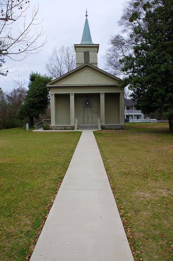 Methodist Church at Old Washington Historic State Park, Old Washington, Arkansas