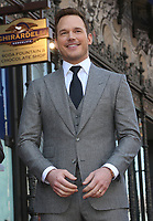 APR 21 Chris Pratt Star On The Hollywood Walk Of Fame Ceremony