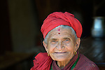 A woman in Makaising, a village in the Gorkha District of Nepal that was hard hit by a 2015 earthquake.