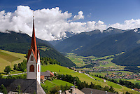 Antholz,  South Tyrol, June 2007. The Village of Kronplatz. The Valley of Antholz is surrounded by mountains of over 3000 meters. South Tyrol used to be part of Austria until it became part of Italy after WWI. Photo by Frits Meyst/Adenture4ever.com