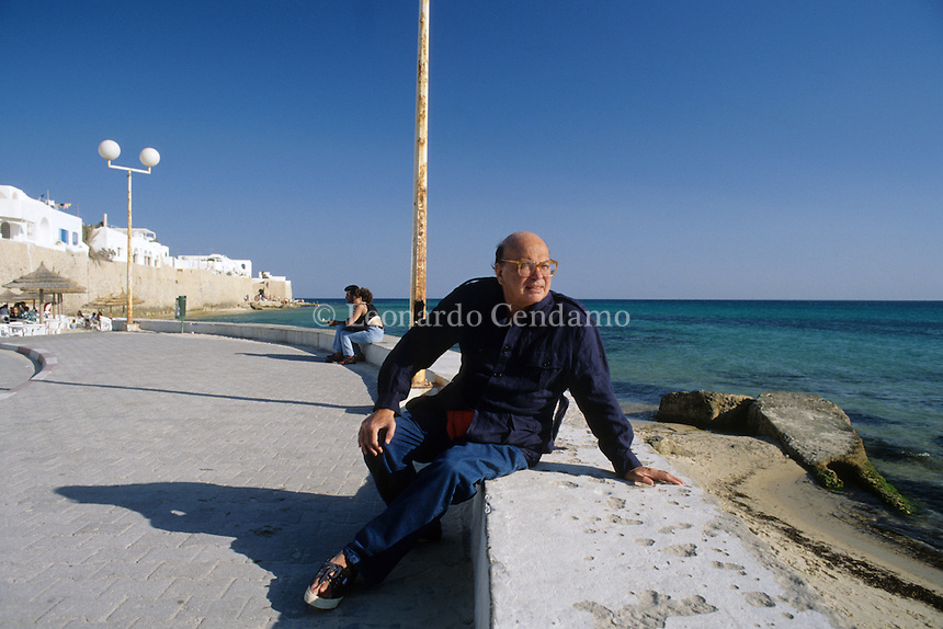 1999 BETTINO CRAXI HAMMAMED TUNISI  © Leonardo Cendamo