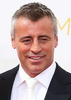 LOS ANGELES, CA, USA - AUGUST 25: Actor Matt LeBlanc arrives at the 66th Annual Primetime Emmy Awards held at Nokia Theatre L.A. Live on August 25, 2014 in Los Angeles, California, United States. (Photo by Celebrity Monitor)