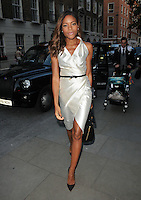 Naomie Harris at the Maison Makarem LFW s/s 2017 presentation &amp; champagne reception, The Ritz Hotel, Piccadilly, London, England, UK, on Friday 16 September 2016.<br /> CAP/CAN<br /> &copy;CAN/Capital Pictures /MediaPunch ***NORTH AND SOUTH AMERICAS ONLY***