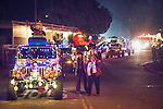 Sutter Creek's Parade of Lights, 2014