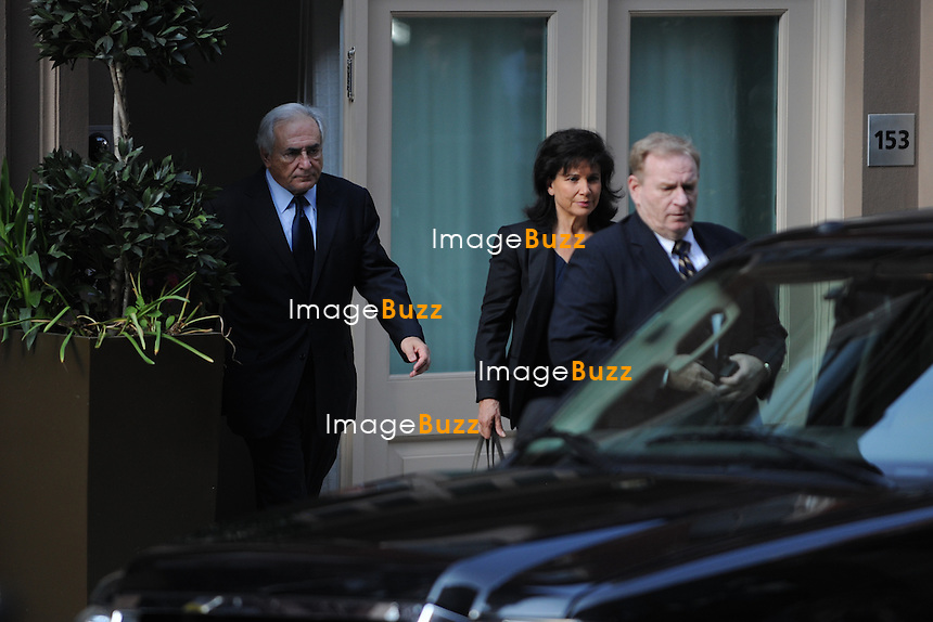 ARCHIVES IMAGES/CPE/November 29,2012-New-Yotk (USA)-Dominique Strauss-Kahn and the hotel housekeeper who accused him of sexually assaulting her last year have quietly reached an agreement to settle a lawsuit she brought against him stemming from the case, which made international headlines, people with knowledge of the matter said Thursday. .The lawyers for Mr. Strauss-Kahn, 63, the former head of the International Monetary Fund, and the housekeeper, Nafissatou Diallo, who accused him of attacking her at a Midtown Manhattan hotel, are scheduled to appear next week before Justice Douglas E. McKeon in State Supreme Court in the Bronx, the people said..Details of the agreement, including any monetary damages to be paid by Mr. Strauss-Kahn, could not be determined on Thursday, and one of the people with knowledge of the matter cautioned that no settlement had yet been signed. .Mr. Strauss-Kahn, once a leading candidate for the French presidency, was arrested in May 2011 after Ms. Diallo, an immigrant from Guinea, told the police that he had sexually assaulted her when she came to clean his 28th-floor suite at the Sofitel hotel. Several days later, a grand jury indicted Mr. Strauss-Kahn on charges including attempted rape, sexual abuse, criminal sexual act, unlawful imprisonment and forcible touching. .He resigned his I.M.F. post in disgrace..But the case fell apart in the weeks after the indictment, as prosecutors began to have concerns about the housekeeperís credibility. . Ms. Dialloís lawsuit sought unspecified damages for what court papers called a ìviolent and sadistic attackî that humiliated and degraded her, and robbed her ìof her dignity as a woman.î Her lawyer indicated that he was prepared to introduce testimony from other women who say they were attacked by Mr. Strauss-Kahn in ìhotel rooms around the worldî and in apartments specifically used by him ìfor the purpose of covering up his crimes.î.Mr. Strauss-Kahn has said the sex with Ms. Diallo was consensual,
