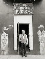 Miguel Algarin, 2005.  Poet, writer, professor.  Co-founder, Nuyorican Poets Cafe