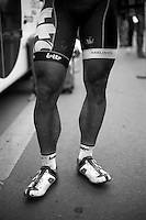 Paris-Roubaix 2012 ..'Gorilla' legs post-race