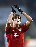 FUSSBALL   1. BUNDESLIGA  SAISON 2012/2013   16. Spieltag FC Augsburg - FC Bayern Muenchen         08.12.2012 Javi , Javier Martinez (FC Bayern Muenchen)