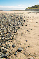Rocky beach at Paturau on west coast of South Island, Nelson Region, New Zealand