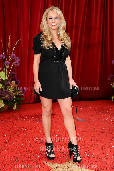 Sophie Abelson arrives at the British Soap awards 2011 held at the Granada Studios, Manchester..14/05/2011  Picture by Steve Vas/Featureflash