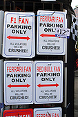 humorous no parking signs for sale