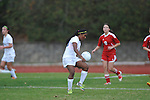 Oxford High's Michelle Reid (23) vs. Lafayette High in girls high school soccer in Oxford, Miss. on Saturday, December 8, 2012. Oxford won 1-0.