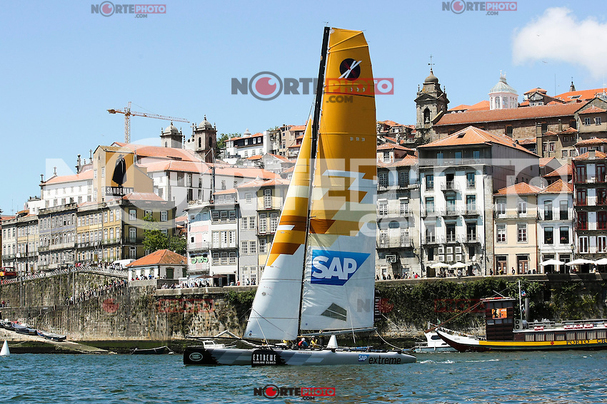 Extreme Sailing Series 2013, Act 5 - Porto, Portugal on July 27, 2013 (Photo Credits: Paulo Oliveira/DPI) NoretePhoto.com