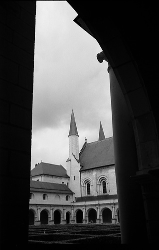 Fontevraud Abbey, Chinon, France by Paul Cooklin