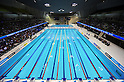 Aquatics Centre,.MARCH 4, 2012 - Swimming :.A general view. British Gas Swimming Championships 2012 (Selection Trials), Women's Open 100m Butterfly Final at London Aquatics Centre in London, United Kingdom. (Photo by Hitoshi Mochizuki/AFLO)