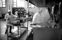 Roma 2000.Carcere di Regina Coeli.Le cucine  . Regina Coeli (Queen of Heaven) Prison..The kitchen