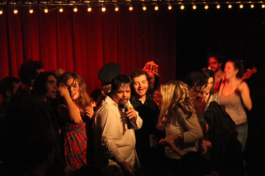 Reverend Vince Anderson and His Love Choir - Valentine's Day - 2011 - Union Pool, Brooklyn, NY - with special guests ?uestlove and Haley Dekle