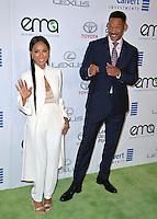 BURBANK, CA. October 22, 2016: Jada Pinkett Smith &amp; Will Smith at the 26th Annual Environmental Media Awards at Warner Bros. Studios, Burbank.<br /> Picture: Paul Smith/Featureflash/SilverHub 0208 004 5359/ 07711 972644 Editors@silverhubmedia.com