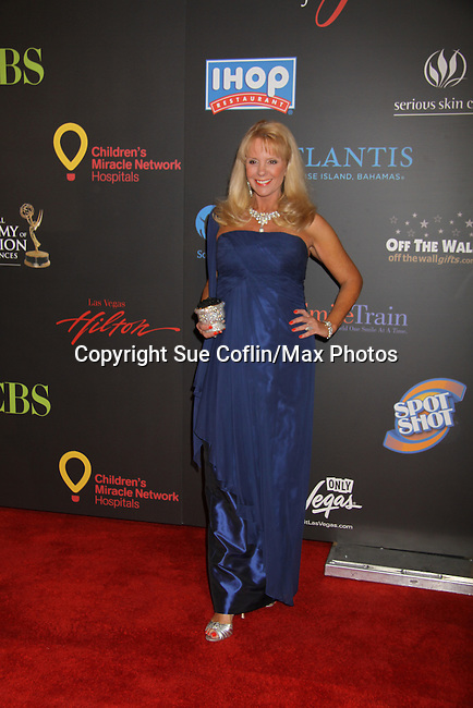 Laura McKenzie at the 38th Annual Daytime Entertainment Emmy Awards 2011 held on June 19, 2011 at the Las Vegas Hilton, Las Vegas, Nevada. (Photo by Sue Coflin/Max Photos)