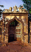 """Maheswari Vasa"" entrance doorway."
