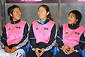 (L to R) Yuki Nagasato, Homare Sawa, Shinobu Ono (JPN), September 11, 2011 - Football / Soccer : Women's Asian Football Qualifiers Final Round for London Olympic Match between Japan 1-0 China at Jinan Olympic Sports Center Stadium, Jinan, China. (Photo by Daiju Kitamura/AFLO SPORT) [1045]